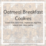 Oatmeal Breakfast Cookies